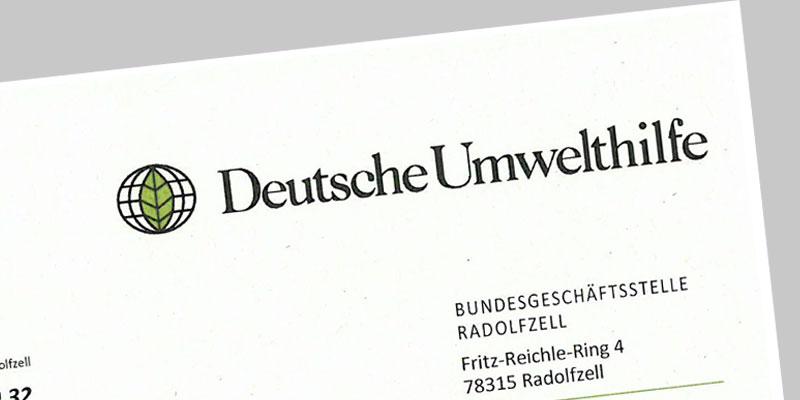 Deutsche Umwelthilfe Abmahnung